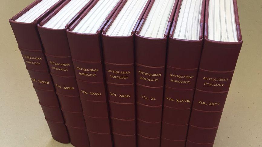 Antiquarian Horology Volumes